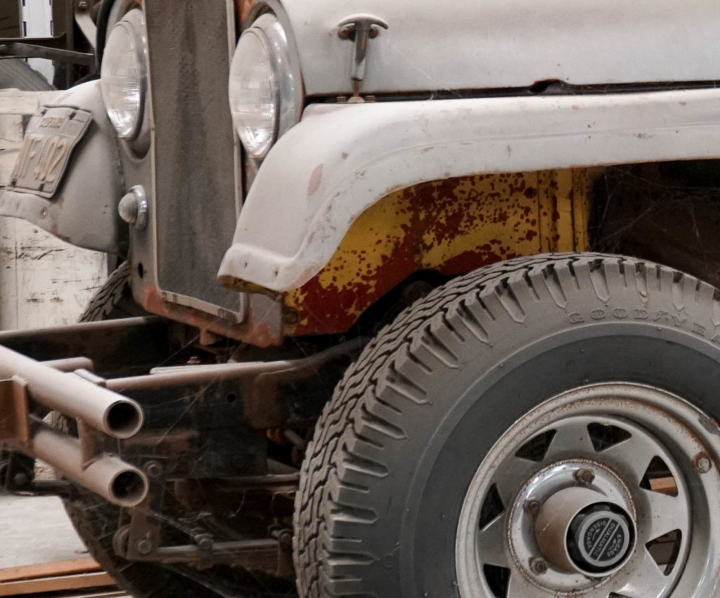 Grey Jeep