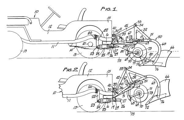 Love Lift Patent Drawing