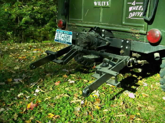 Jeep with 3 point hitch
