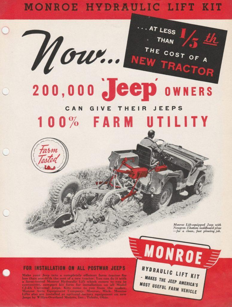 Monroe Lift brochure